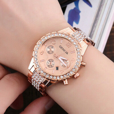 New Fashion Bracelet Wrist Watch for Woman Ladies Silver Rose Gold Luxury Gifts