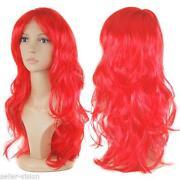 Ladies Long Red Wigs