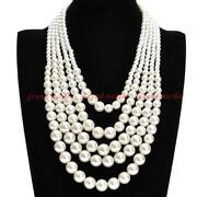 4 Strand Pearl Necklace