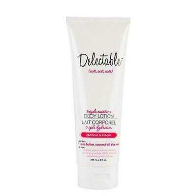 Be Delectable by Cake Beauty Body Lotion, Coconut & Cream -
