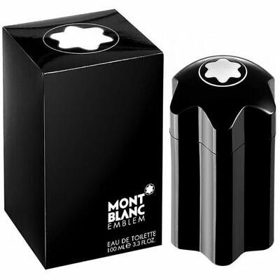 EMBLEM Mont Blanc Men cologne EDT 3.3 oz Spray NEW IN BOX
