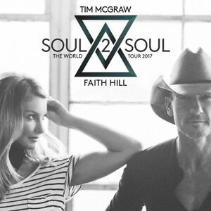 Tim McGraw/Faith Hill Soul to Soul concert Sec 226 Row 8