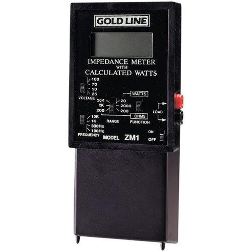 Gold Line ZM-1 Impedance Meter