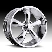 5 Lug 20 inch Chrome Rims