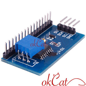 New IIC I2C Serial Interface Board Module For Arduino LCD 1602 Display