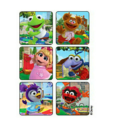 Muppets Party Supplies (25 Muppet Babies Scenes STICKERS Party Favors for Birthday Treat Loot)
