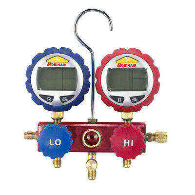 Robinair 43180 2-way Manifold With Digital Gauges
