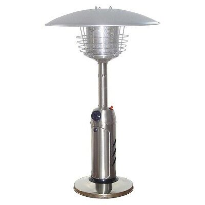 Garden Sun Stainless Steel Tabletop Propane Patio Heater