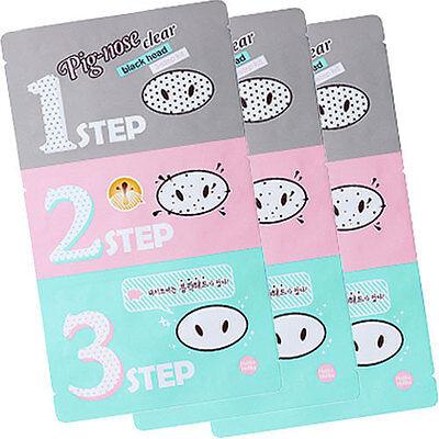 HOLIKA HOLIKA Pig Nose Clear Blackhead 3-Step Kit * 3 PCS