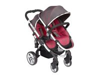 ICandy Peach Twin 2 pram for sale