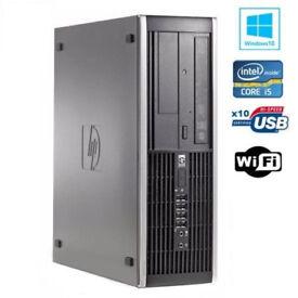 HP 8100 ELITE SFF DESKTOP PC i5 3.20GHz DDR3 4GB 500GB SATA