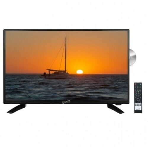 Supersonic 32 Inch LED HDTV with Built in DVD Player SC-3222