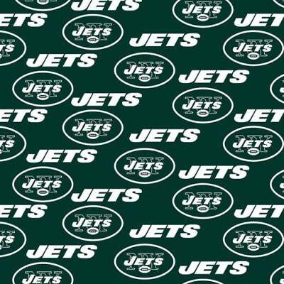 NFL Football New York Jets Handmade Window Curtain Valance 56