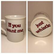 Vintage Whistle Cup