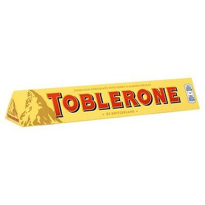 Toblerone Milk Chocolate Bar, 100g
