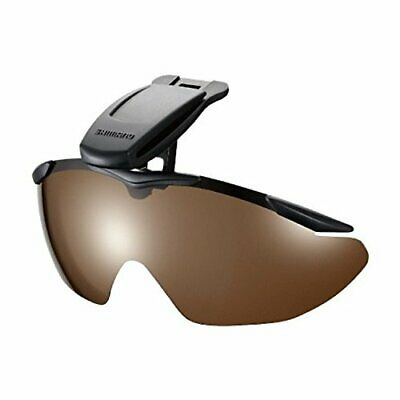 Shimano cap clip-on-glass HG-002N mat black brown free