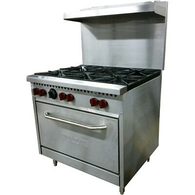 Vulcan Sx36-6b 36 6 Burner Natural Gas Range