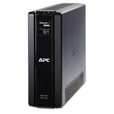 APC Back-UPS Pro 1500-10-Outlet Battery Backup 1500VA/865W BR1500G, NEW BATTERY!
