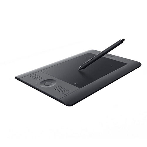 New Genuine Wacom Intuos Pro Small Graphics Tablet - Black (PTH-451-ENES)