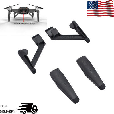 For DJI Mavic Air Drone Landing Gear Extensions Mount Bracket Holder Leg Support