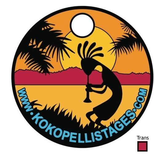 v1 KOKOPELLI  stages RARE LIMITED EDITION PATHTAG with red translucent NEW !
