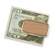 Wood Money Clip