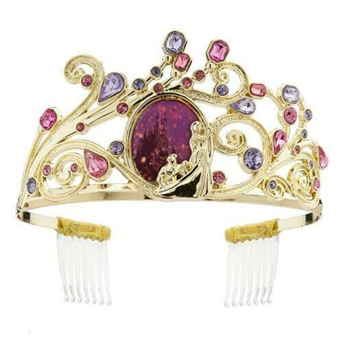 Disney Parks Store Princess RAPUNZEL Tangled Crown Tiara Head Piece NWT