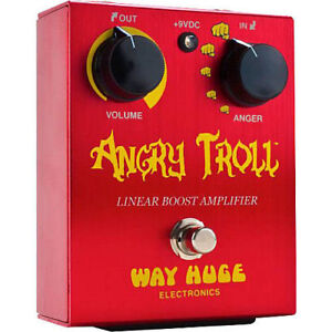Great OD / Boost Pedal -wakes up any amp with Big Punch and qual