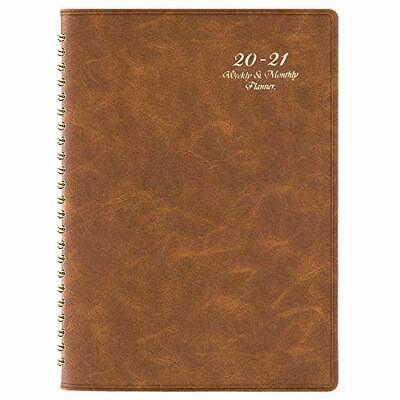 2020-2021 Planner - Academic Weekly Monthly Planner With Tabs 6.5 X 8.7 Ju