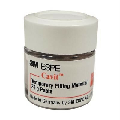 3m Cavit P Pink Hard 28 Gm Jar Dental