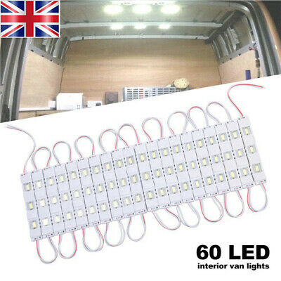Car Light Kit Interior 12V White 60 LED For LWB Van Sprinter Ducato Transit UK