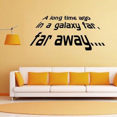 Quote Sticker Star Wars Vinyl Art Wall Sticker Kids Room Decal Car Decor Sticker - Star Wars Decoration