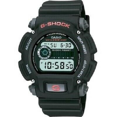 Casio Men's Digital G-Shock Watch DW9052-1V,  Black & Grey Resin Strap