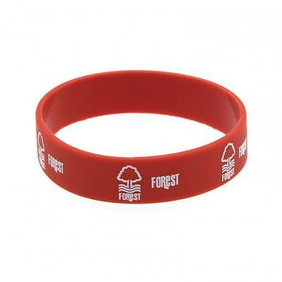 *OFFICIAL*Nottingham Forest F.C. Rubber WRISTBANDS (Silicone) One Size Fits All