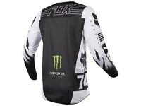 BRAND NEW Fox Monster Pro Curcuit Racing Jersey Size LARGE.