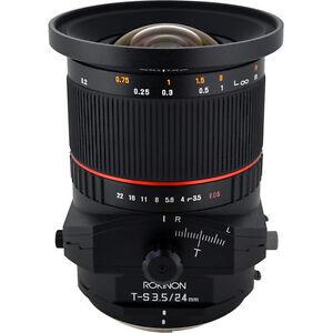 Tilt Shift lens for Canon