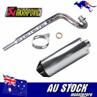 Unbranded Mufflers Motorcycle Exhausts & Exhaust System Parts