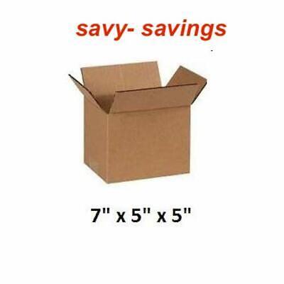Single Wall Postal Mailing Cardboard Boxes 7 x 5 x 5