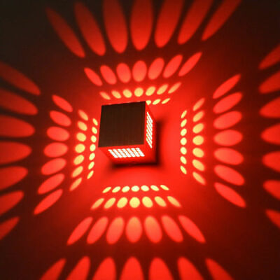 3W 3D LED Wall Sconce Lamp Fixture Ceiling Light Porch Lobby Disco Hallway decor](Disco Ceiling Light)