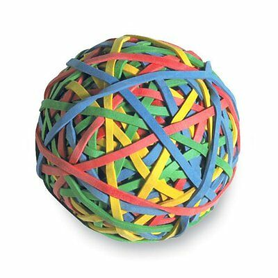 Acco Rubber Band Ball - 1 Each - Assorted Acc72155