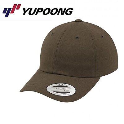 Yupoong Low Profile Cotton Twill Baseball Cap Uni/One Size Buck-Brown  Buck Cap