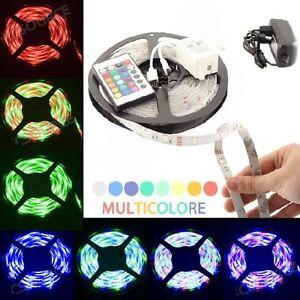 BOBINA-STRISCIA-LUCE-RGB-MULTICOLORE-300-LED-5-METRI-TELECOMANDO-ALIMENTATORE
