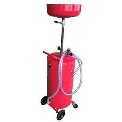 Portable Auto Lift 20 Gallon Waste Oil Drain Air Tank Wheel Hose New Hose Oil Drain