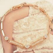 Solid Rose Gold Bracelet