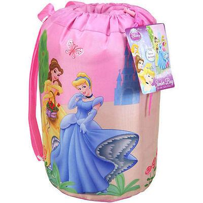 Camping Slumber Sleeping Bag with Backpack Disney Princesses Girl Age 3+ NEW