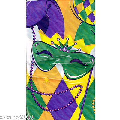ABLE COVER ~ Birthday Party Supplies Cloth Decorations (Mardi Gra Party Supplies)