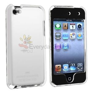 Crystal Clear Hard Case Cover Shield for iPod Touch 4 G 4G 4TH GEN ITOUCH