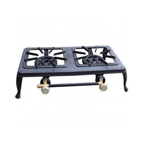 2 Burner Cast Iron Stove Ebay
