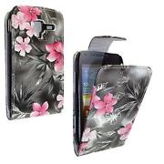 Samsung Galaxy Ace Cover Flower