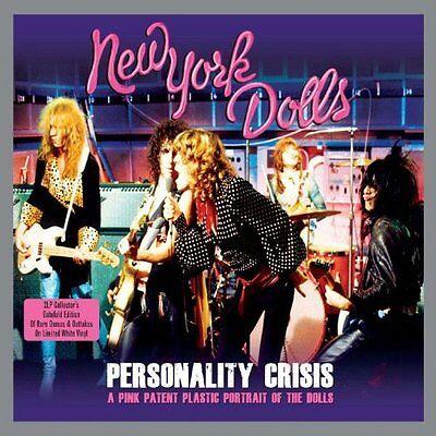 New York Dolls - Personality Crisis (2LP Gatefold 180g White Vinyl) NEW/SEALED